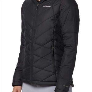 Columbia black jacket youth size large worn 1X